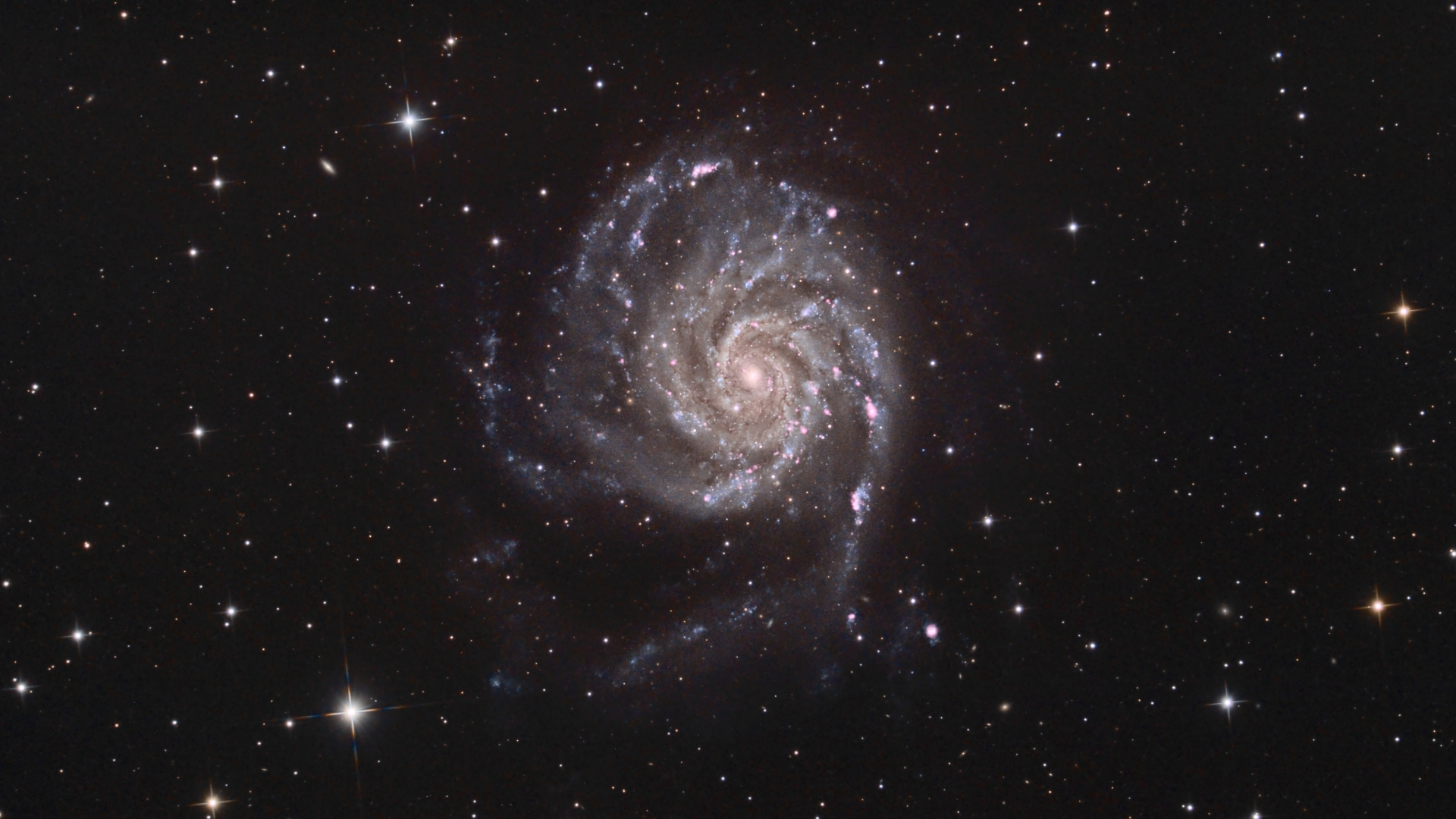 Pinwheel Galaxy Messier 101